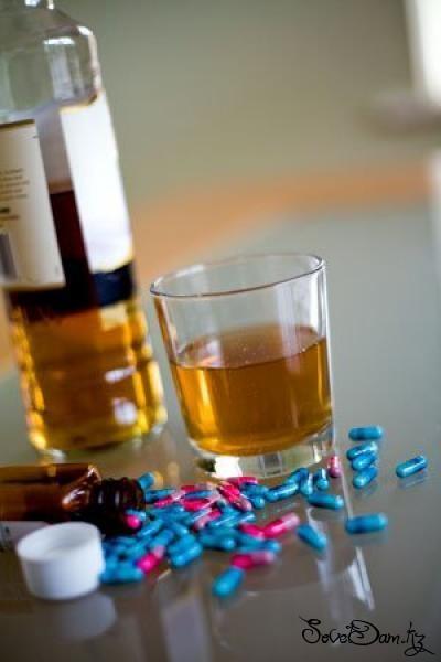 Алкоголь и лекарственные препараты